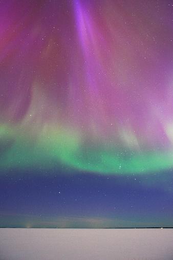 star sky「Aurora Borealis」:スマホ壁紙(0)