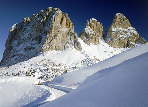 Mountain「Sassolungo 」:写真・画像(6)[壁紙.com]