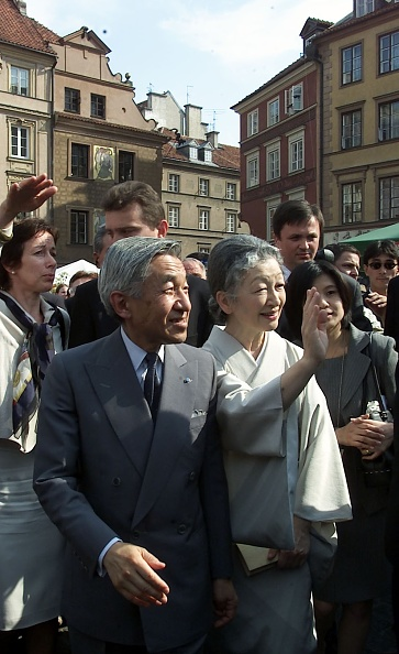 Emperor Akihito「Visit of the Emperor of Japan Akihito with his wife in Poland」:写真・画像(15)[壁紙.com]