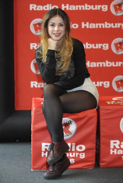 Pantyhose「Lena Meyer-Landrut Visits Hamburg」:写真・画像(10)[壁紙.com]