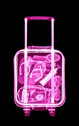 Flip-Flop「Womens holiday luggage xray」:スマホ壁紙(9)