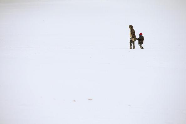 Outdoors「Chicago Endures Third Day Of Heavy Snowfall」:写真・画像(12)[壁紙.com]