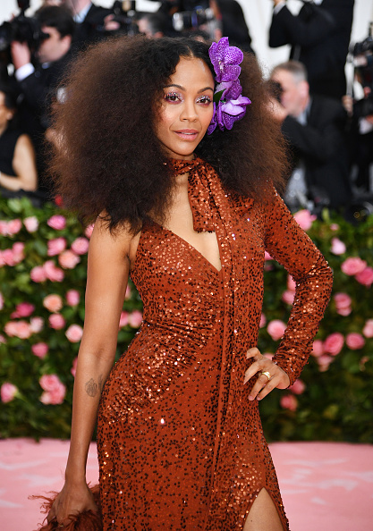 Curly Hair「The 2019 Met Gala Celebrating Camp: Notes on Fashion - Arrivals」:写真・画像(8)[壁紙.com]