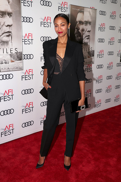 "Zoe Saldana「AFI FEST 2017 Presented By Audi - Screening Of ""Hostiles"" - Red Carpet」:写真・画像(7)[壁紙.com]"
