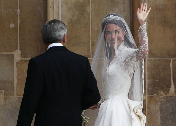 Appliqué「Royal Wedding - Wedding Guests And Party Make Their Way To Westminster Abbey」:写真・画像(18)[壁紙.com]