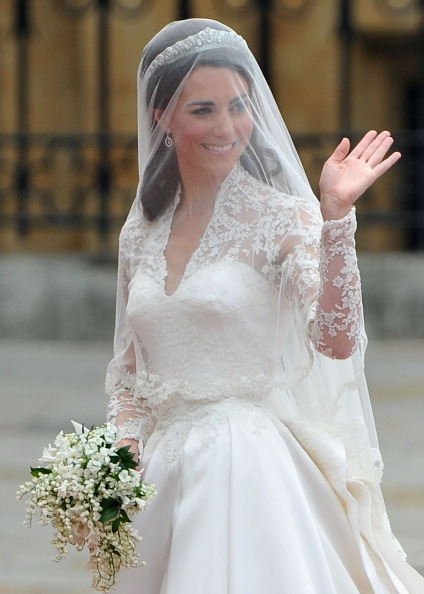 Veil「Royal Wedding - Wedding Guests And Party Make Their Way To Westminster Abbey」:写真・画像(9)[壁紙.com]