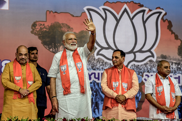 Delhi「Narendra Modi Nominated As Prime Minster」:写真・画像(9)[壁紙.com]
