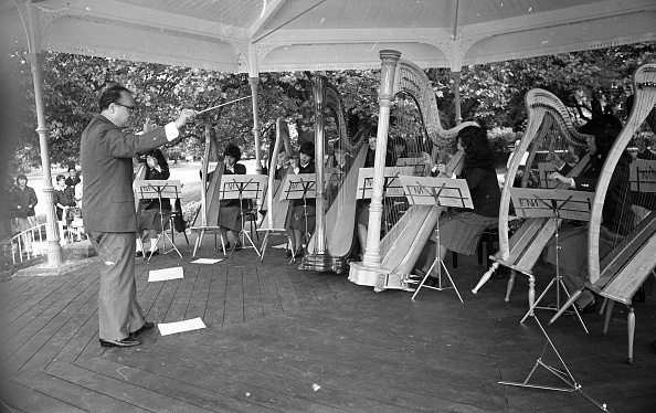 Performing Arts Event「Japanese Mimura Harp Orchestra of Tokyo in St Stephen's Green 1988」:写真・画像(15)[壁紙.com]