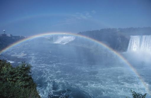 Steep「Rainbow over Niagara Falls, Ontario, Canada」:スマホ壁紙(16)