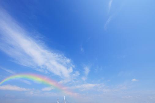 Japan「Rainbow over Tsurumi Tsubasa Bridge」:スマホ壁紙(10)
