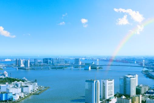 東京都中央区「Rainbow Over Tokyo Bay」:スマホ壁紙(15)