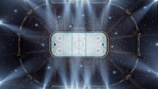 National Hockey League「Hockey stadium arena bird eye view」:スマホ壁紙(6)