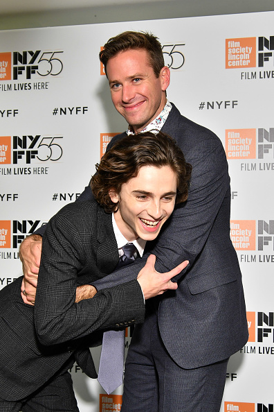 アーミー ハマー「55th New York Film Festival - 'Call Me By Your Name'」:写真・画像(14)[壁紙.com]