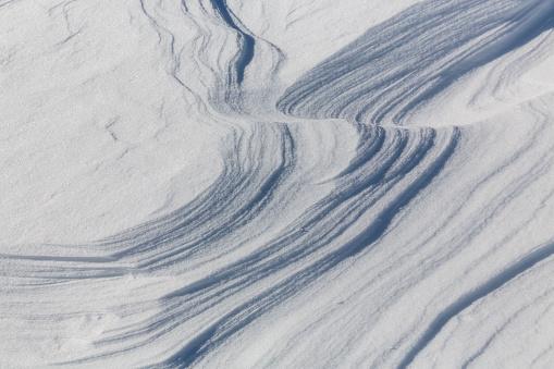 Snowdrift「Austria, snowdrifts seen from above」:スマホ壁紙(9)