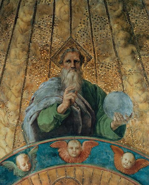 God「Disputa. Detail: God The Father. (Fresco In Stanza Della Segnatura)」:写真・画像(6)[壁紙.com]