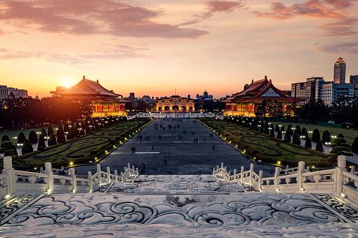 Famous Place「Chiang Kai-shek Memorial Hall in Taipei - Taiwan」:スマホ壁紙(10)
