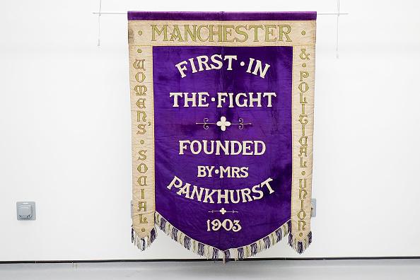 Christopher Furlong「Manchester's Suffragette Banner Moves Back To The City」:写真・画像(12)[壁紙.com]