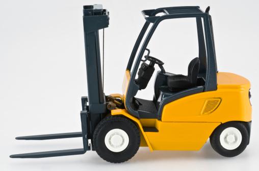 Side View「Forklift, Toy. Color Image」:スマホ壁紙(18)