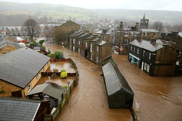 UK「Severe Flood Warnings Issued For Northern England」:写真・画像(6)[壁紙.com]