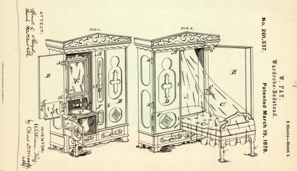 Bed - Furniture「Cupboard Bed」:写真・画像(1)[壁紙.com]