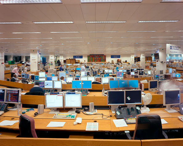 Blank「Trading Floor, international bank.」:写真・画像(14)[壁紙.com]