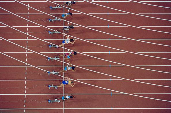 Marion Jones「XXVII Olympic Summer Games」:写真・画像(1)[壁紙.com]