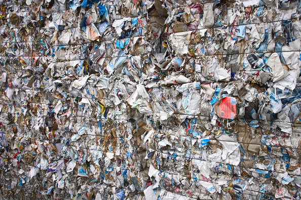 Full Frame「Compacted paper recycling」:写真・画像(1)[壁紙.com]
