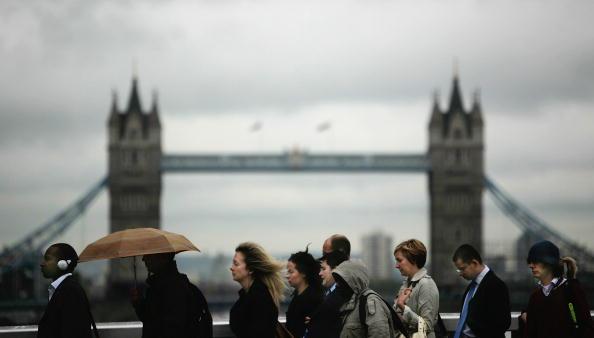 Economy「Financial Turmoil Hangs Over London's City Workers」:写真・画像(17)[壁紙.com]