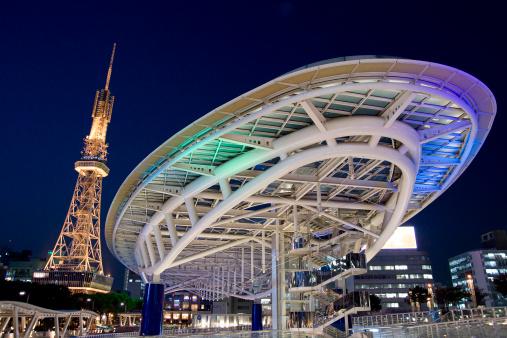 2009「Osaka 21 and Television Tower」:スマホ壁紙(17)
