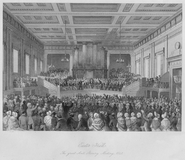 Black History in the UK「Exeter Hall. The great Anti-Slavery Meeting」:写真・画像(7)[壁紙.com]