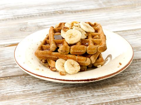 ペカン「Banana Pecan Waffles」:スマホ壁紙(5)
