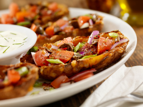 Sour Cream「Loaded Stuffed Potato Skins」:スマホ壁紙(5)