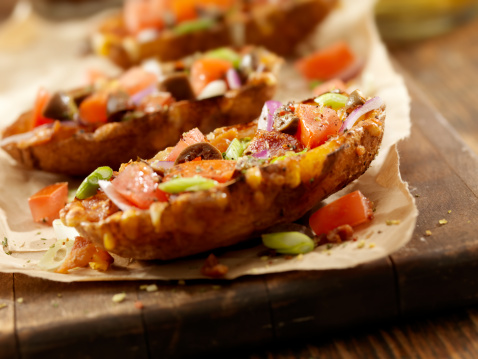 Baked Potato「Loaded Stuffed Potato Skins」:スマホ壁紙(4)