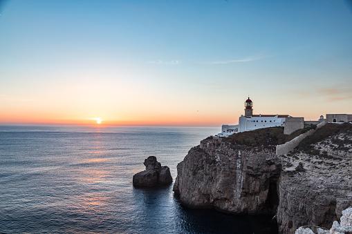 Receiving「Capo de São Vicente Lighthouse in Portugal」:スマホ壁紙(2)