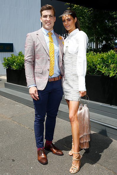 Blue Pants「Celebrities Attend Stakes Day」:写真・画像(9)[壁紙.com]
