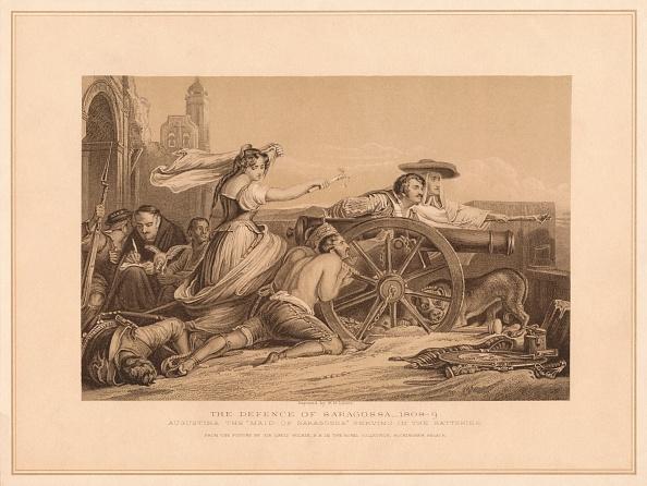 Sepia Toned「The Defence of Saragoosa, 1808-9, (1878)」:写真・画像(19)[壁紙.com]
