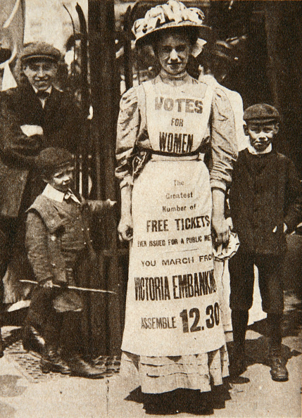 Edwardian Style「The Suffragette Housemaid 1908」:写真・画像(16)[壁紙.com]