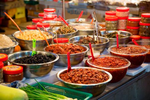 Jeju Island「Chutneys for sale at Dongmun Traditional Market」:スマホ壁紙(10)