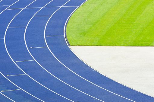 Olympic Stadium「Empty athletics track」:スマホ壁紙(19)