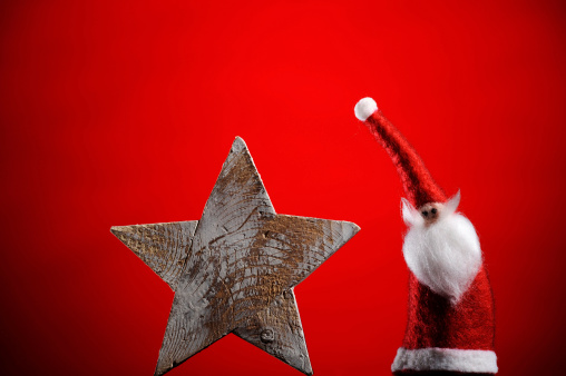 Beard「Santa Claus with wooden star」:スマホ壁紙(10)