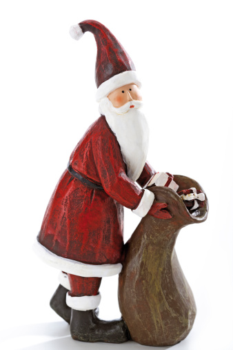 Knick Knack「Santa Claus figurine, close-up」:スマホ壁紙(6)