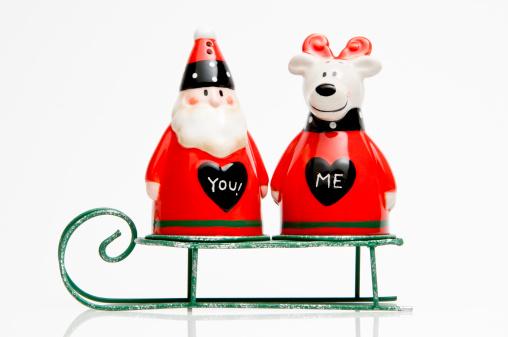 Sled「Santa Claus and companion on a sleigh.」:スマホ壁紙(15)