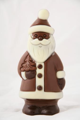 Milk Chocolate「Santa Claus figurine made of chocolate」:スマホ壁紙(11)