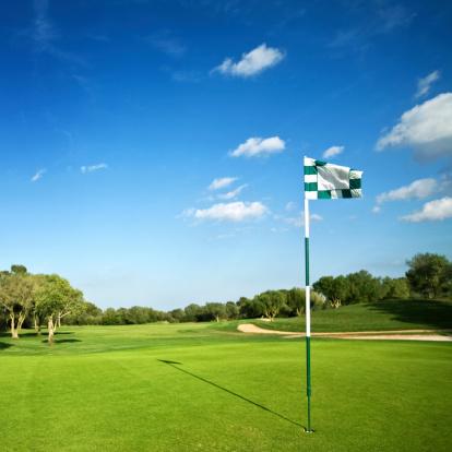 Sports Flag「beautiful golf park」:スマホ壁紙(0)