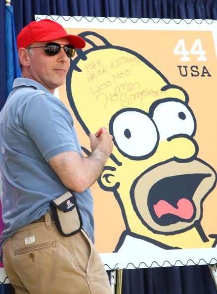 ダン カステラネタ「The Simpsons Stamps Dedication Ceremony」:写真・画像(6)[壁紙.com]