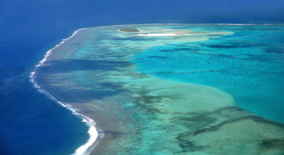 アイツタキ島「Aitutaki Lagoon , Cook Islands」:スマホ壁紙(1)