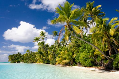 Aitutaki Lagoon「Aitutaki Lagoon, Cook Islands」:スマホ壁紙(3)
