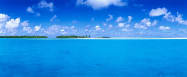 Aitutaki Lagoon「Aitutaki Lagoon.」:スマホ壁紙(5)