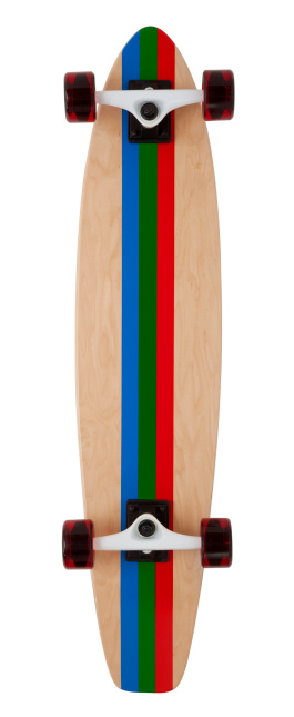 Skateboard「Back of Skateboard on White」:スマホ壁紙(6)