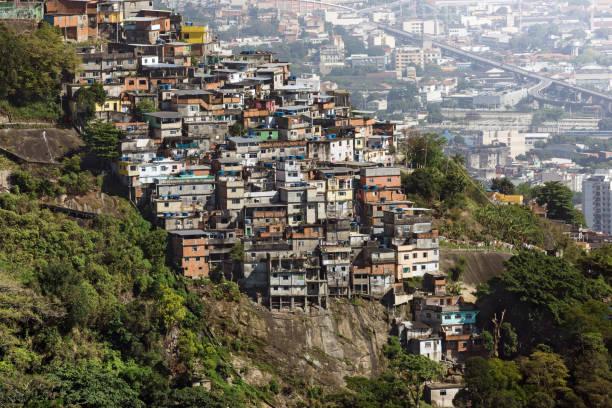 Favela Slum in Rio de Janeiro Brazil:スマホ壁紙(壁紙.com)